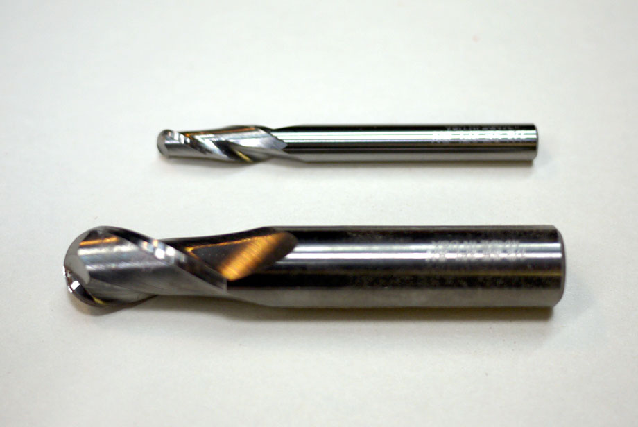 Ballnose end mill